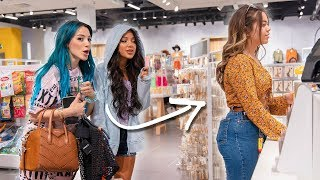 Following People in Stores and Buying what they Buy Challenge