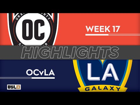 Оранж Каунти Блюз - LA Galaxy 2 1:2. Видеообзор матча 30.06.2019. Видео голов и опасных моментов игры