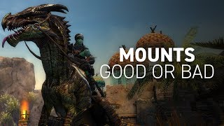 Guild Wars 2 Mounts: Good or Bad? (Path of Fire Expansion)
