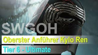 SWGOH - Oberster Anführer Kylo Ren: Tier 6 - Ultimative Fähigkeit freispielen