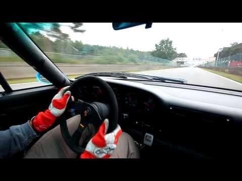 Porsche 993 Carrera RS ClubSport @ Circuit Zolder (720p HD)