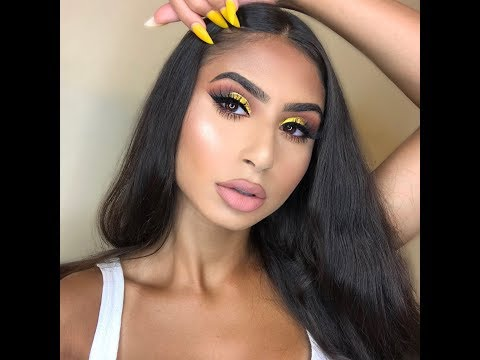 Yellow Cut Crease Makeup Tutorial