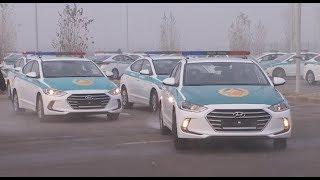 Полиция Алматы получила новые автомобили (14.12.18)