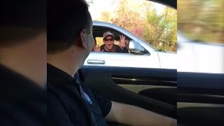 NASCAR Driver Surprises Fan By Pulling Up Next to Her: 'It Made My Life'