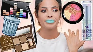 FULL FACE OF MAKEUP IM THROWING OUT 2018 - Video Youtube