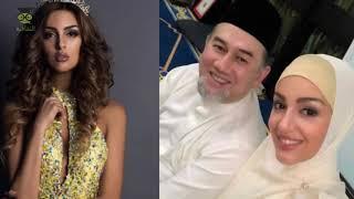 بعد إشهار إسلامها  ملك ماليزيا يتزوج ملكة جمال روسيا