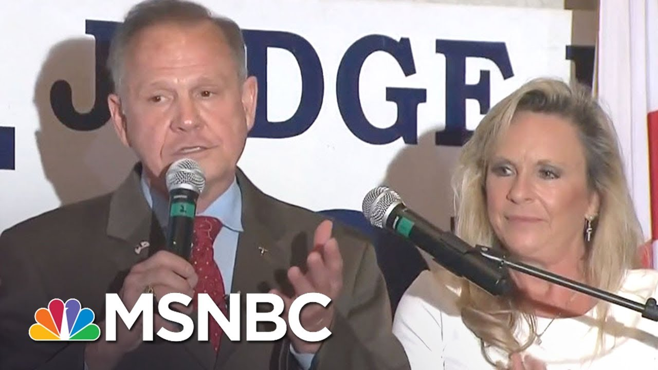 What Does It Mean For The GOP If Roy Moore Wins? | MTP Daily | MSNBC thumbnail