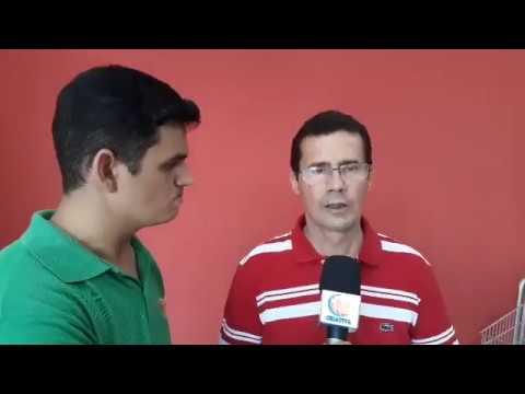 Nilton Pinheiro, um dos proprietários, fala da Inauguração do Supermercado