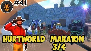 Hurtworld #41 - MARATON 3/4 - Nie zwalniamy tempa - kolejne rajdy!