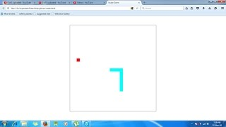 hello friends,this is 2nd part.i am bring for beginners who want to learn making game in HTML5 so you gonna like my new tutorial snake game. now you can be able to create your own game through coding. if you have another queries then ask me in comment box i will connect you definitely and do comment , share and subscribe...