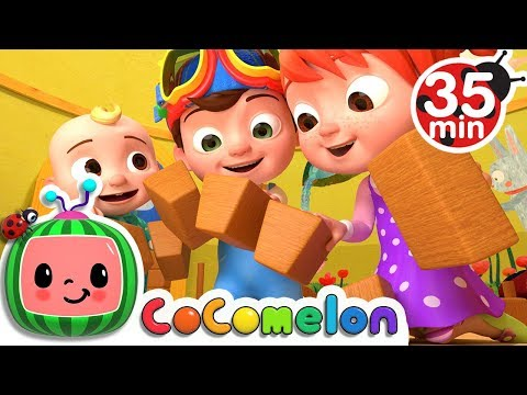 London Bridge is Falling Down | +More Nursery Rhymes & Kids Songs - Cocomelon (ABCkidTV)
