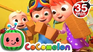 London Bridge is Falling Down + More Nursery Rhymes & Kids Songs - CoComelon