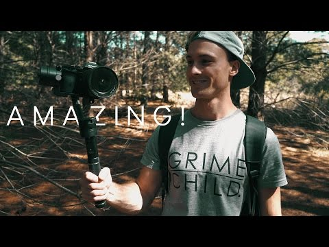Zhiyun Crane - Best DSLR camera Stabilizer hand held gimbal