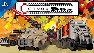 Convoy: A Tactical Roguelike - Launch Trailer   PS4