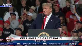 FULL RALLY: President Trump talks impeachment and more in Toledo, Ohio