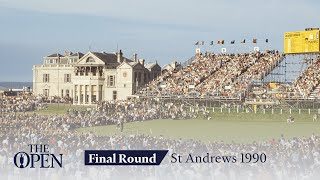 Nick Faldo's Final Round in Full | The Open at St Andrews 1990