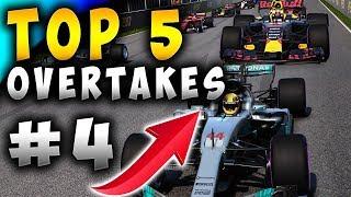 Racing Games | Top 5 Overtakes Of The Week ep4
