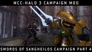 Halo MCC: Halo 3 Campaign Mod- Swords of Sangheilos Campaign Pt. 4
