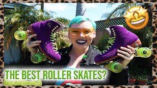 THE BEST ROLLER SKATES FOR BEGINNERS? MOXI LOLLY ROLLER SKATE REVIEW!