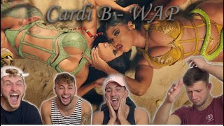 Cardi B - WAP feat. Megan Thee Stallion [Official Music Video] /Housem4tes reaction/