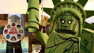 All Stan Lee in Peril Locations in Free Roam - LEGO Marvel