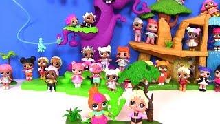 Питомцы Лол #LoL Pets Surprise Series 3 Puppy Моя Коллекция Лол! Куклы ЛОЛ Амазонки My Губка Боб