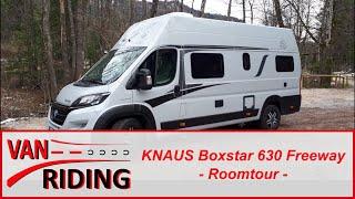 KNAUS Boxstar 630 Modell 2019 Roomtour