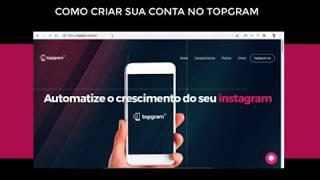 Topgram - Como conectar conta