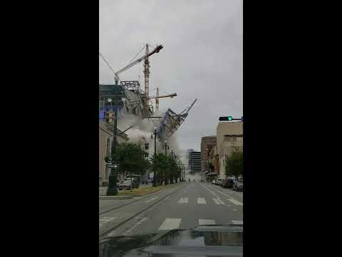 Hard Rock casino collapses in New Orleans