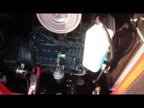 Дизельный мотор Kubota V1505