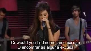 Ashley Tisdale - What If +lyrics (Ingles+Español)+HD