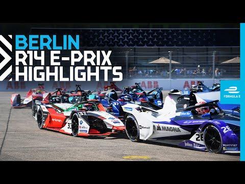 フォーミュラE ベルリンE-PRIX 決勝レースのハイライト動画