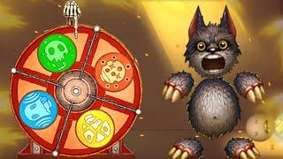 All Wheel of Misfortune EFFECTS vs Moon Wolf Buddy | Kick The Buddy