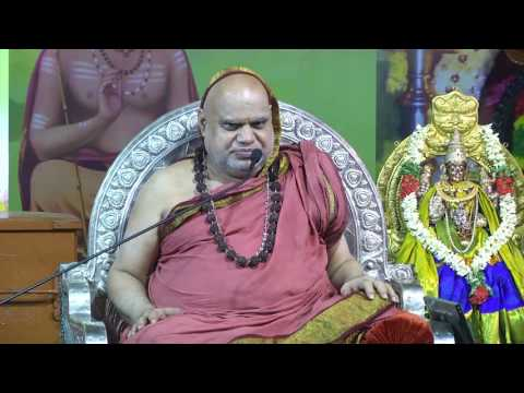 Jagadguru Sri Bharati Tirtha Mahaswamigal Anugraha Bhasanam in Pudukkottai