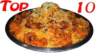 Top 10 Indian Foods | Most Amazing food in the world.