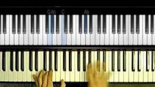 Teach Me Tonight - Bossa Nova Style Piano Tutorial