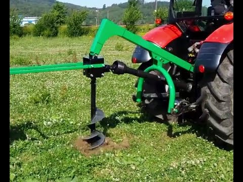 soil and earth drill EB1,0 Produktivdeo