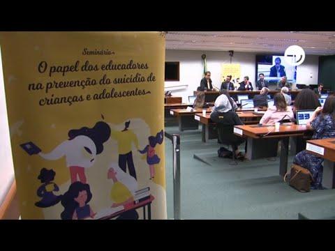 Seminário debate depressão e suicídio de jovens - 06/12/19