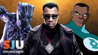 History of Black Superheroes in TV & Film - SJU