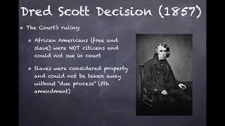 US Regents Review: Video #20: The Compromise of 1850, The Kansas Nebraska Act, etc.