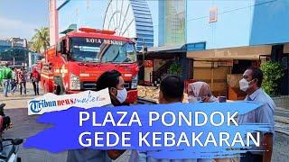 Mall Plaza Pondok Gede Bekasi Terbakar, Berawal Petugas Keamanan Patroli dan Lihat Ada Asap
