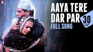Aaya Tere Dar Par - Full Song | Veer-Zaara | Shah Rukh Khan