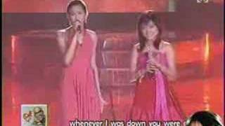 Charice Pempengco & Sarah Geronimo - A Song for Mama