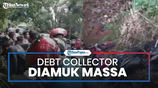 Polisi Usut Kasus Debt Collector Dipukuli Massa dan Motornya Dibuang ke Parit di Wilayah Tasikmalaya