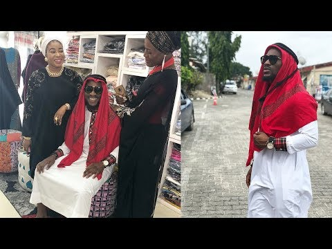 BBNAIJA Tobi Takes Alex To Visit His Aunt Liz Anjorin | Both Dress Up Like Alhaji And Alhaja [HD]