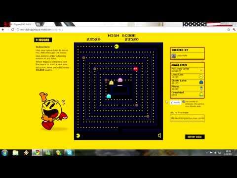 World's Biggest Pacman Video 2