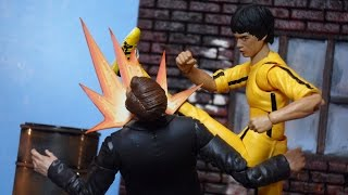 Bandai S.H. Figuarts Game of Death Movie Bruce Lee Action Figure Review