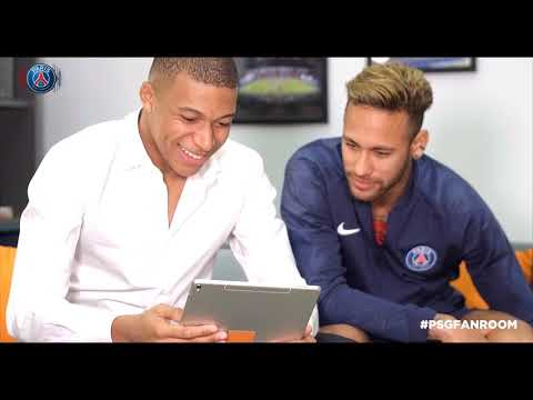 #PSGFANROOM avec Orange - Neymar & K. Mbappé
