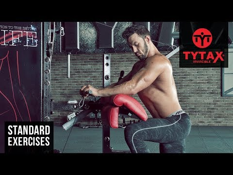 Cable Reverse Wrist Curl | TYTAX® S6