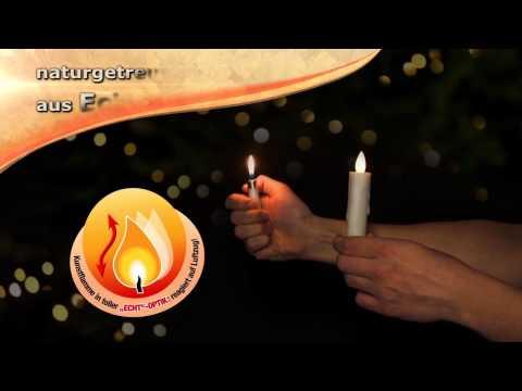 Kerzenzauber kabellose Christbaumkerzen - präsentiert von tvdoo.de